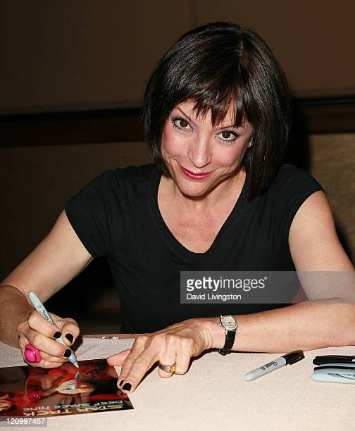 Actress Nana Visitor attends Day 2 of the Official Star Trek Convention at the Rio Las Vegas Hotel Casino on August 12 2011 in Las Vegas Nevada