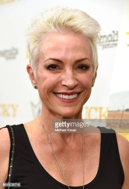 Actress Nana Visitor attends the Los Angeles premiere of 'Lucky' at Linwood Dunn Theater on September 26 2017 in Los Angeles California