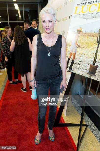 Actress Nana Visitor attends the premiere of Magnolia Pictures' Lucky at Linwood Dunn Theater on September 26 2017 in Los Angeles California