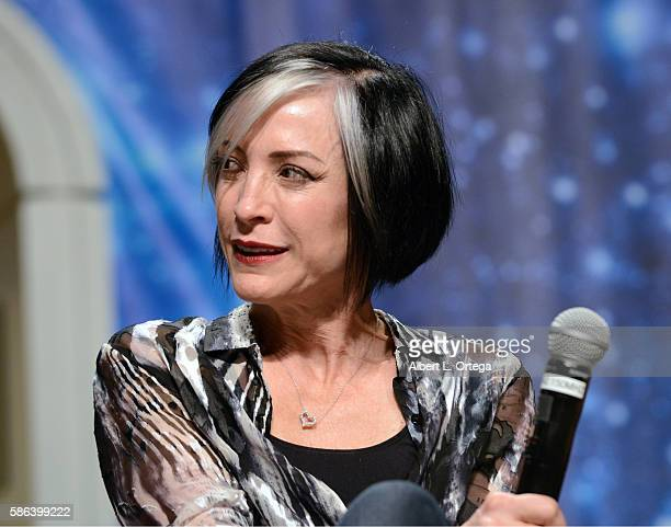 Actress Nana Visitor on day 3 of Creation Entertainment's Official Star Trek 50th Anniversary Convention at the Rio Hotel Casino on August 5 2016 in...