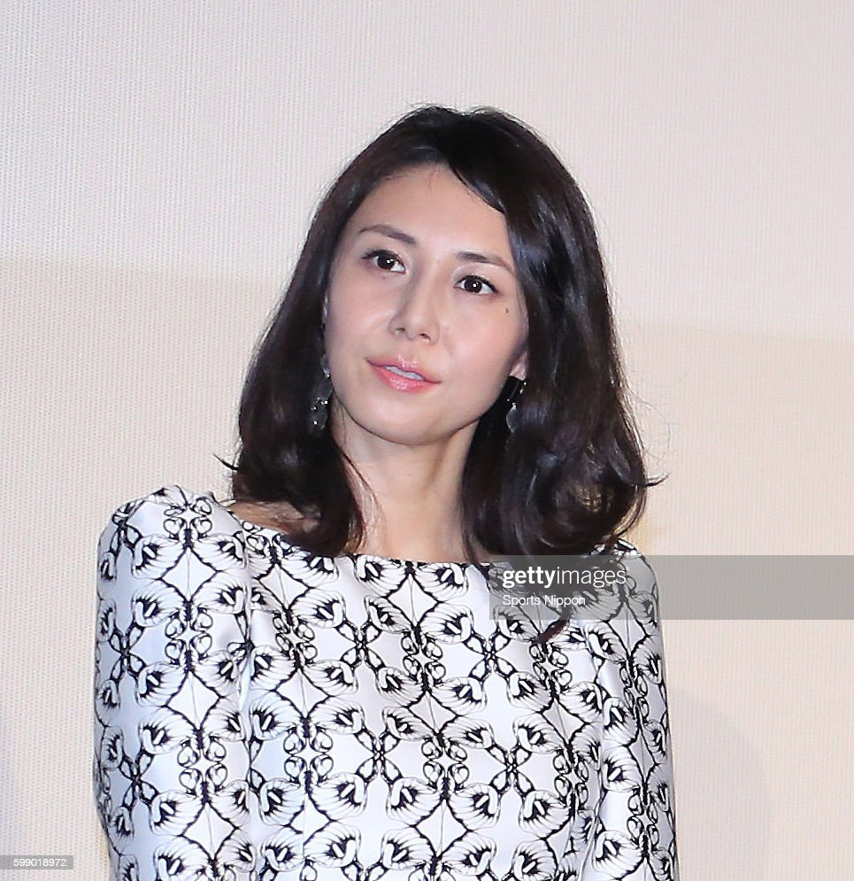 Actress Nanako Matsushima Attends The Fuji Tv Program Press News Photo Getty Images