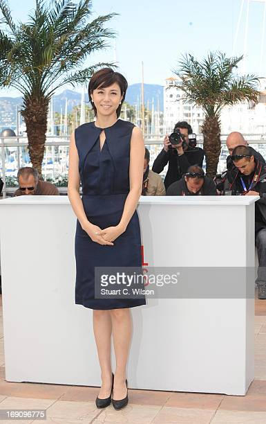Actress Nanako Matsushima attends the photocall for 'Wara No Tate' at The 66th Annual Cannes Film Festival on May 20 2013 in Cannes France