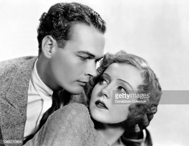 Actress Nancy Carroll and Edward Woods in a scene from the movie Hot Saturday