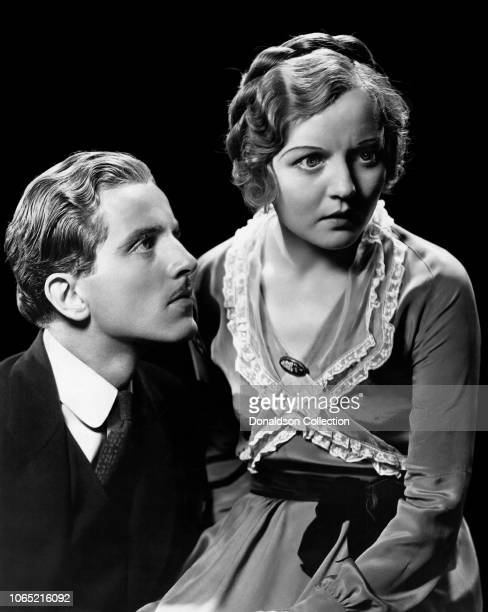 Actress Nancy Carroll and Phillips Holmes in a scene from the movie Broken Lullaby
