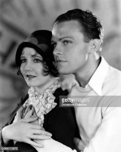 Actress Nancy Carroll and Stanley Smith in a scene from the movie Sweetie