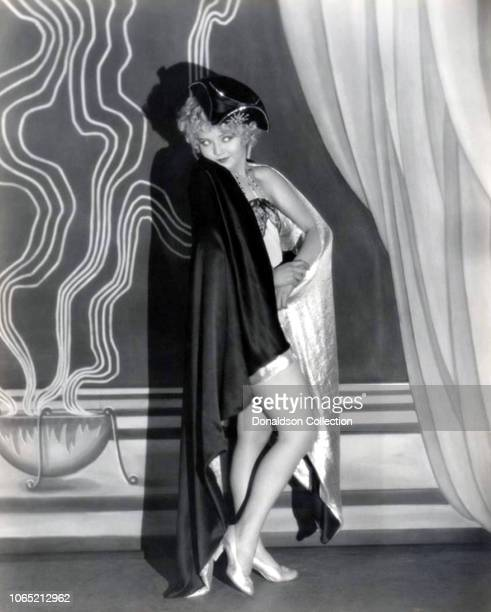 Actress Nancy Carroll in a scene from the movie Manhattan Cocktail
