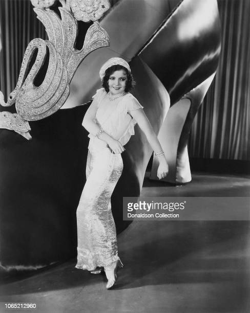 Actress Nancy Carroll in a scene from the movie Paramount on Parade