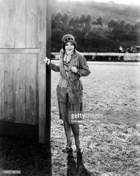 Actress Nancy Carroll in a scene from the movie Sweetie