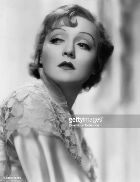 Actress Nancy Carroll in a scene from the movie The Kiss Before the Mirror