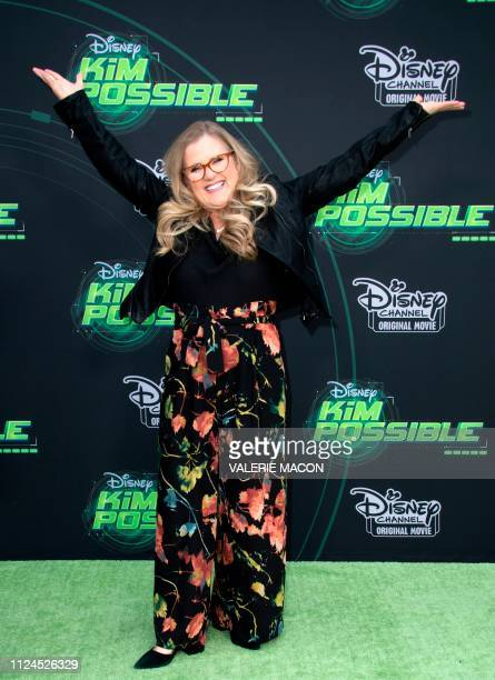 Actress Nancy Cartwright attends the world premiere of Disney channel original movie 'Kim Possible' in North Hollywood California on February 12 2019