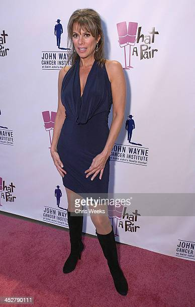 Actress Nancy Grahn attends What A Pair! benefiting The John Wayne Cancer Institute at St. John's Health Center at The Broad Stage on September 23,...