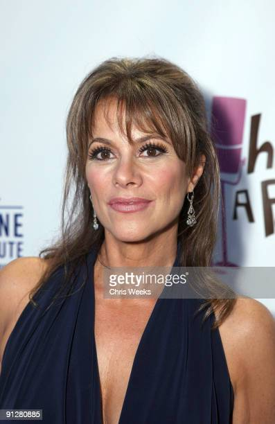 """Actress Nancy Grahn attends """"What A Pair!"""" benefiting The John Wayne Cancer Institute at St. John's Health Center at The Broad Stage on September 23,..."""