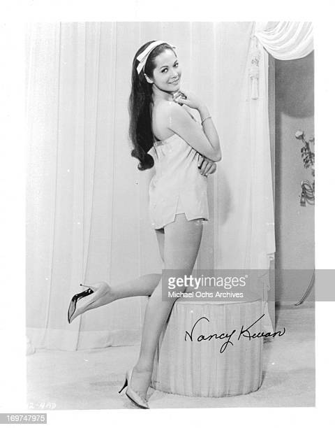 Actress Nancy Kwan poses for a portrait in circa 1961