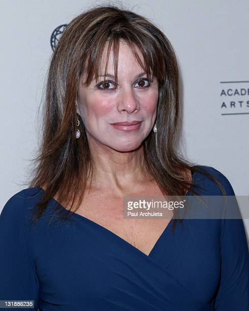 Actress Nancy Lee Grahn arrives at the Academy Of Television Arts & Sciences' 2011 Daytime Emmy Awards nominees cocktail party at SLS Hotel on June...