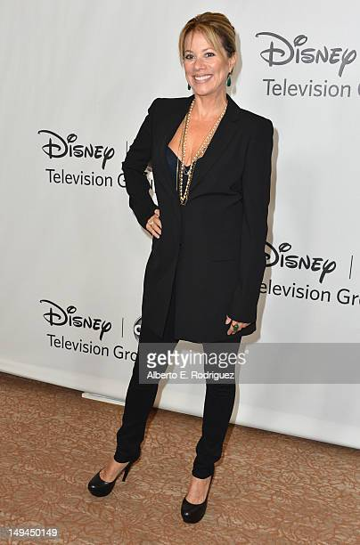 "Actress Nancy Lee Grahn arrives to the Disney ABC Television Group's 2012 ""TCA Summer Press Tour"" on July 27, 2012 in Beverly Hills, California."