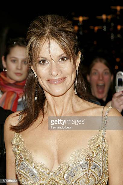 Actress Nancy Lee Grahn arrives to the National Television Academy Celebration for the 32nd Daytime Emmy Awards May 20, 2005 in New York City.