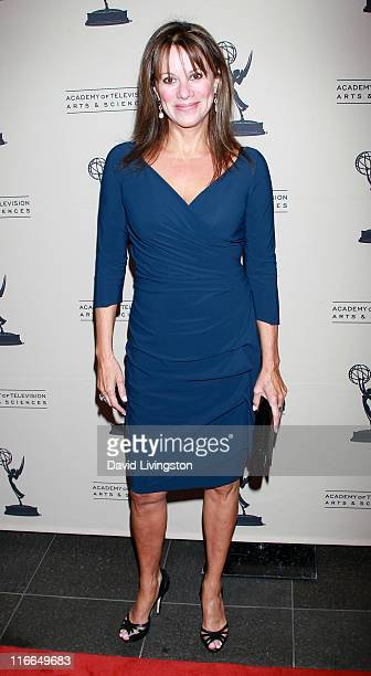 Actress Nancy Lee Grahn attends the 2011 Daytime Emmy Awards nominees cocktail reception at SLS Hotel Beverly Hills on June 16, 2011 in Beverly...