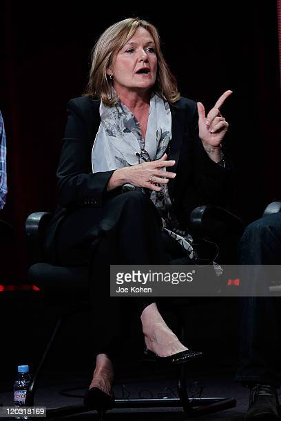 Actress Nancy Lenehan attends the 2011 CBS Summer Press Tour Day Sessions at The Beverly Hilton hotel on August 3, 2011 in Beverly Hills, California.