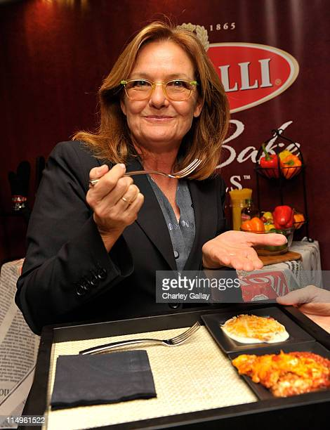 """Actress Nancy Lenehan attends the Bertolli Oven Bake Meals at the Access Hollywood """"Stuff You Must..."""" Lounge produced by On 3 Productions held at..."""