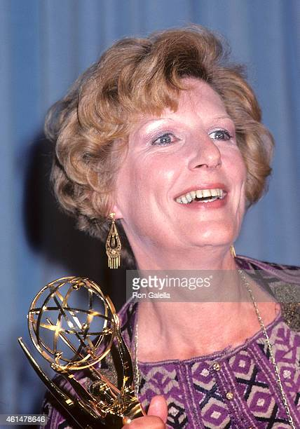 Actress Nancy Marchand attends the 33rd Annual Primetime Emmy Awards on September 13 1981 at the Pasadena Civic Auditorium in Pasadena California