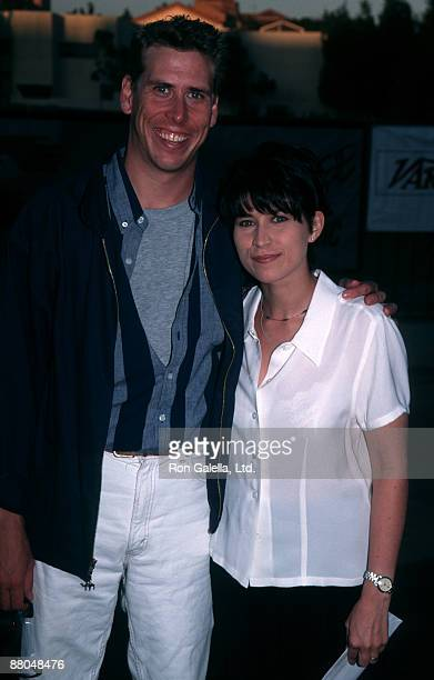 Actress Nancy McKeon and actor Philip McKeon attending Evening at the Net Benefit for Los Angeles Free Clinic on July 29 1996 at the UCLA Campus in...