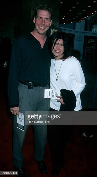 Actress Nancy McKeon and actor Philip McKeon attending the world premiere of Rules of Engagement on April 2 2000 at Mann Village Theater in Westwood...