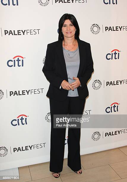 Actress Nancy McKeon attends the 2014 PaleyFest Fall TV preview of The Facts Of Life 35th anniversary reunion at The Paley Center for Media on...