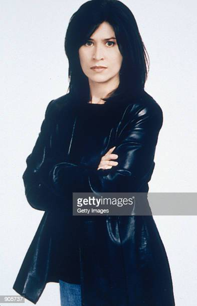 Actress Nancy McKeon poses for a promotional photograph for the television show The Division