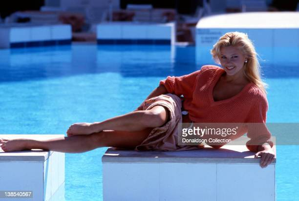Actress Nancy Mulford poses for a portrait session in circa 1988 in Los Angeles California