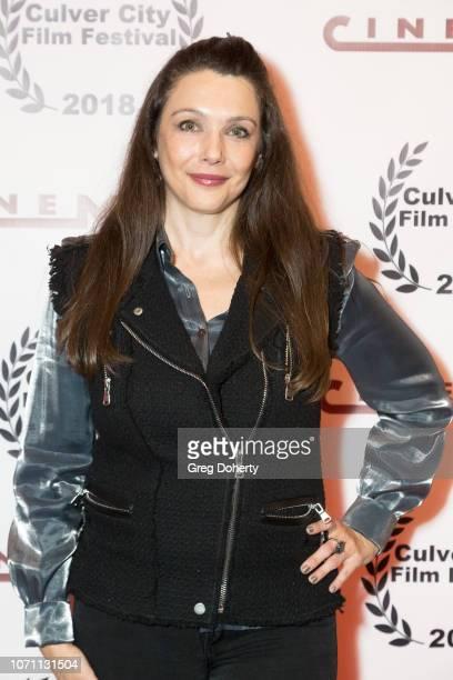 Actress Nancy O'Brien attends a screening of Acts Of Desperation At Culver City Film Festival Starring Paul Sorvino Kira Reed Lorsch Jason Gedrick...