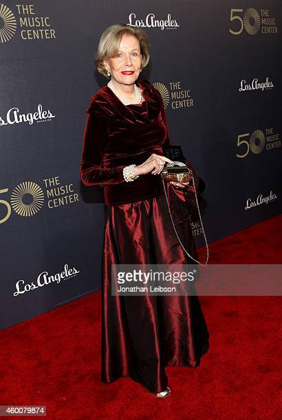 Actress Nancy Olson Livingston attends The Music Center's 50th Anniversary Spectacular at The Music Center on December 6 2014 in Los Angeles...