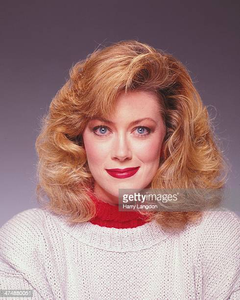 Actress Nancy Stafford poses for a portrait in 1988 in Los Angeles California