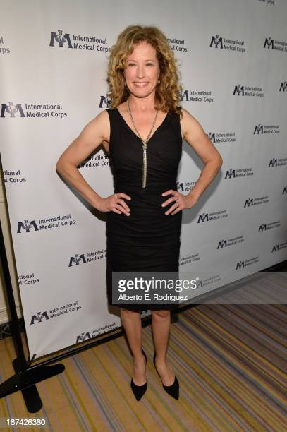 Actress Nancy Travis attends International Medical Corps Annual Awards Celebration at Regent Beverly Wilshire Hotel on November 8, 2013 in Beverly...