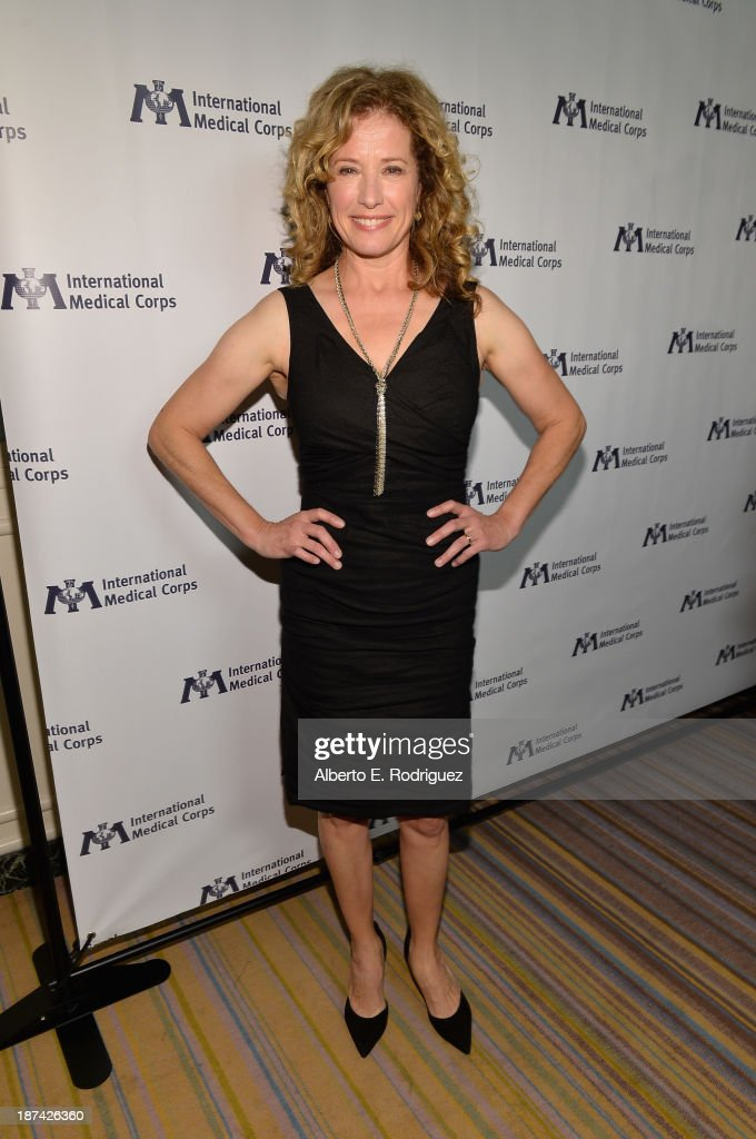 Actress Nancy Travis attends International Medical Corps Annual Awards  Celebration at Regent Beverly Wilshire Hotel on