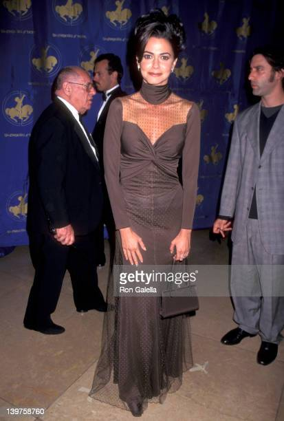 Actress Nancy Valen attends Carousel of Hope Ball Benefit on October 25 1996 at the Beverly Hilton Hotel in Beverly Hills California