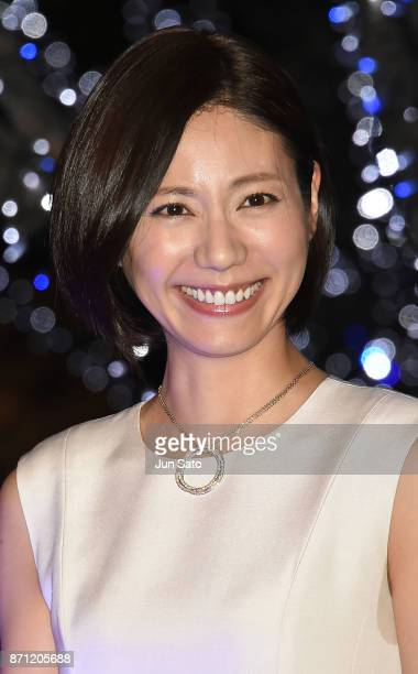 Actress Nao Matsushita attends the Roppongi Hills Artelligent Christmas Lighting up Ceremony on November 7 2017 in Tokyo Japan