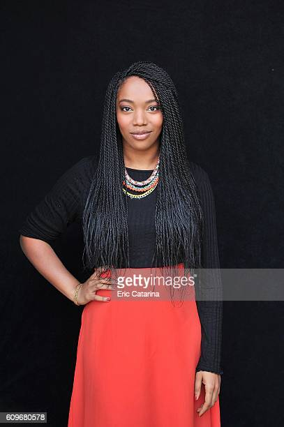Actress Naomi Ackie is photographed for Self Assignment on September 20 2016 in San Sebastian, Spain.