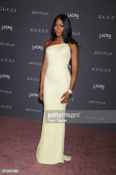 Actress Naomi Campbell attends the 2017 LACMA Art + Fim Gala in Los Angeles, California.