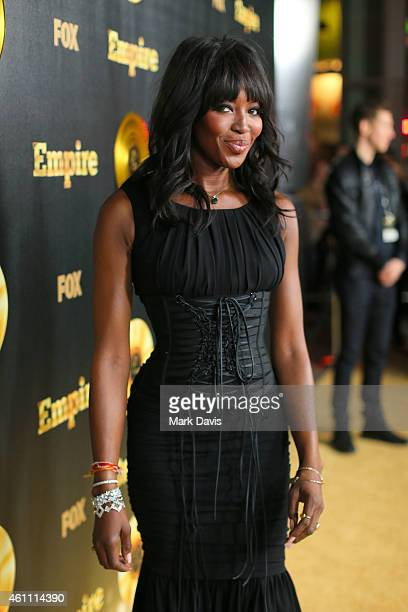 Actress Naomi Campbell attends the premiere of Fox's 'Empire' held at ArcLight Cinemas Cinerama Dome on January 6 2015 in Hollywood California