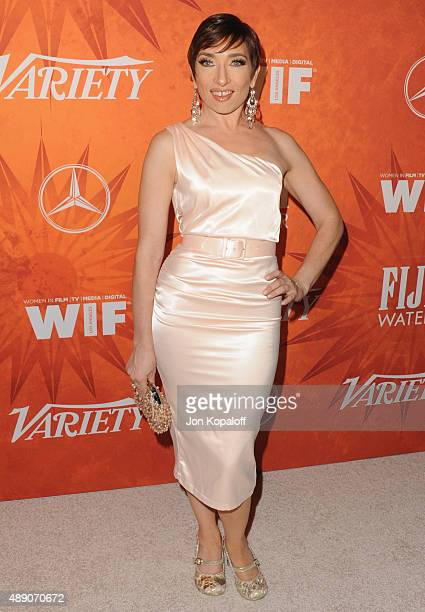 Actress Naomi Grossman arrives at the Variety And Women In Film Annual Pre-Emmy Celebration at Gracias Madre on September 18, 2015 in West Hollywood,...