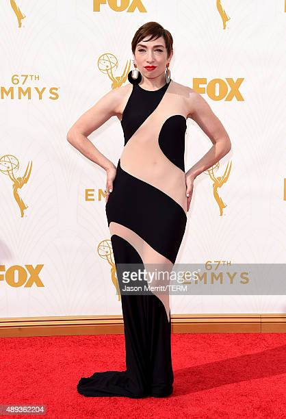 Actress Naomi Grossman attends the 67th Annual Primetime Emmy Awards at Microsoft Theater on September 20 2015 in Los Angeles California