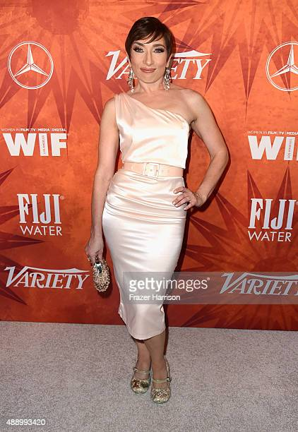 Actress Naomi Grossman attends the Variety and Women in Film Annual PreEmmy Celebration at Gracias Madre on September 18 2015 in West Hollywood...
