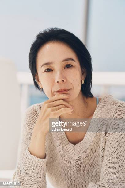 Actress Naomi Kawase is photographed for Self Assignment on May 2017 in Cannes France