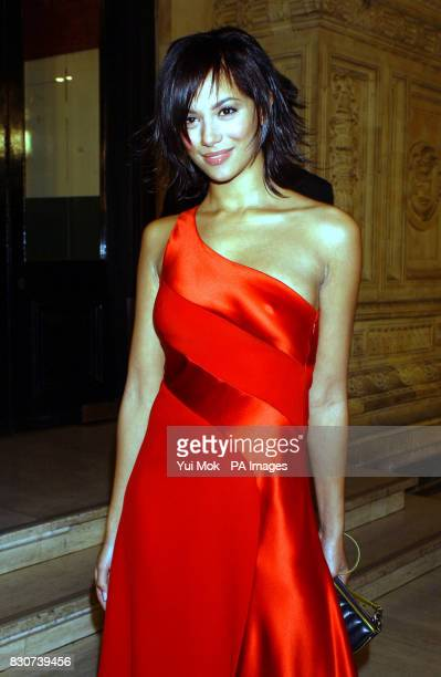 Actress Naomi Russell from Coronation Street arriving at the National Television Awards at the Royal Albert Hall in London