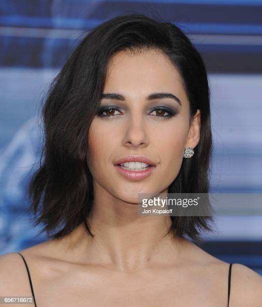 Actress Naomi Scott arrives at the Los Angeles Premiere Power Rangers at the Westwood Village Theater on March 22 2017 in Westwood California