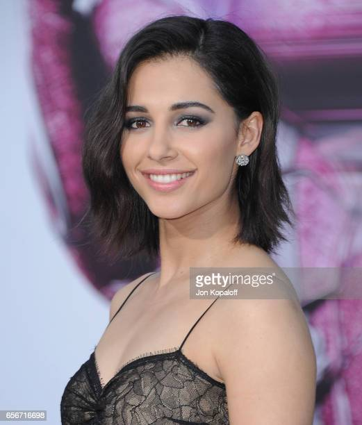 Actress Naomi Scott arrives at the Los Angeles Premiere 'Power Rangers' at the Westwood Village Theater on March 22 2017 in Westwood California