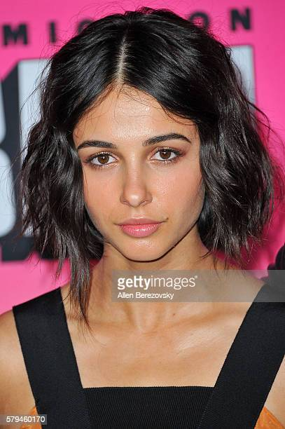 Actress Naomi Scott attends Entertainment Weekly's Annual ComicCon Party 2016 at Float at Hard Rock Hotel San Diego on July 23 2016 in San Diego...