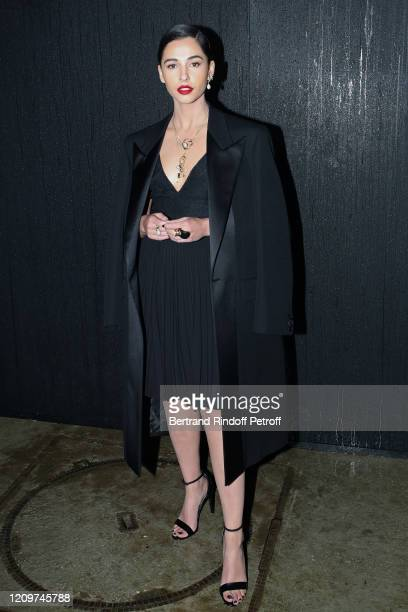 Actress Naomi Scott attends the Givenchy show as part of the Paris Fashion Week Womenswear Fall/Winter 2020/2021 on March 01 2020 in Paris France