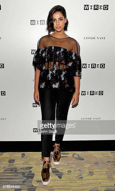 Actress Naomi Scott attends WIRED Cafe during ComicCon International 2016 at Omni Hotell on July 21 2016 in San Diego California