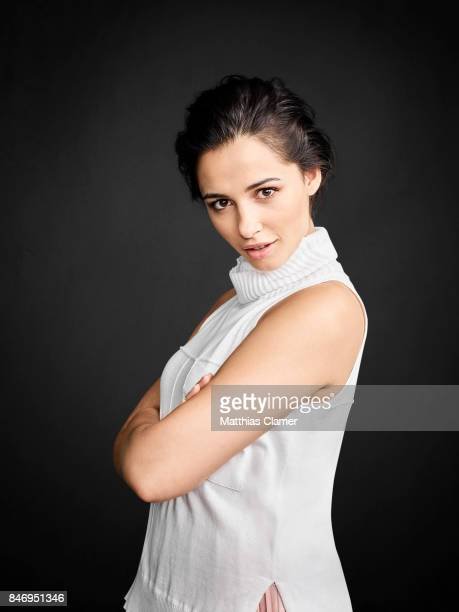 Actress Naomi Scott from 'Power Rangers' is photographed for Entertainment Weekly Magazine on July 22, 2016 at Comic Con in the Hard Rock Hotel in...
